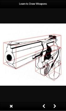 Learn to Draw Weapon screenshot 1