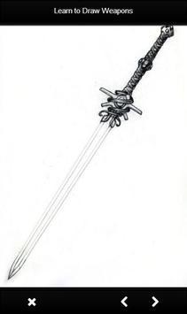 Learn to Draw Weapon screenshot 3