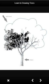 Learn to Drawing Trees apk screenshot