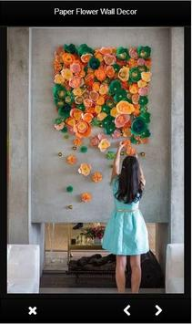 Paper Flower Wall Decor apk screenshot