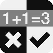 Crazy Math Piano Tiles icon