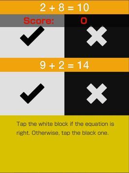 Crazy Math Piano Tiles apk screenshot