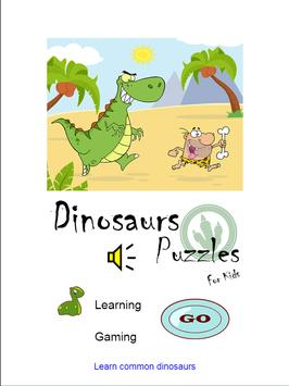 Dinosaurs Puzzles For Kids screenshot 12