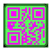 Custom QR scanner and generator icon