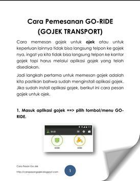 GOJEK PANDUAN LENGKAP v2 screenshot 3