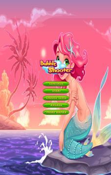 Beauty Mermaid Bubble poster