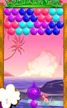 Beauty Mermaid Bubble screenshot 1