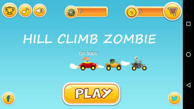 Hill Climb Zombie poster