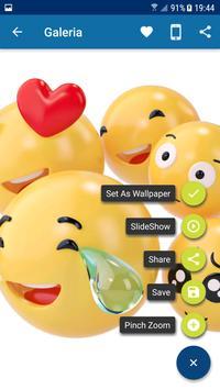 Emoji wallpaper apk screenshot