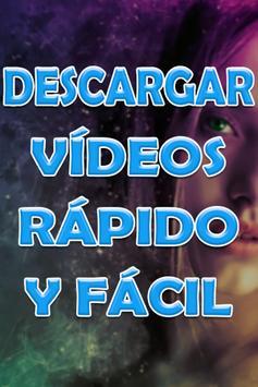Descargar Videos Rápido y Fácil al Celular Guide poster