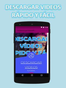 Descargar Videos Rápido y Fácil al Celular Guide screenshot 1