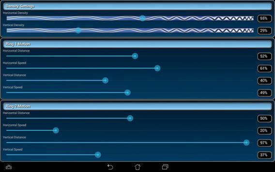 Warp Rings LITE Live Wallpaper screenshot 15
