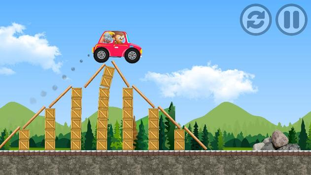 Adventure Car Munki And Trunk poster