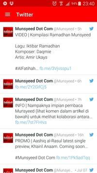 Munsyeed apk screenshot