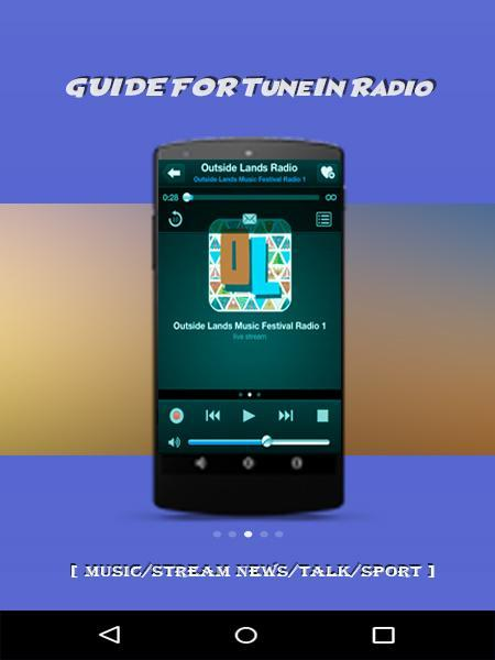 Guide For TuneIn Radio [ MUSIC/STREAM/TALK/SPORT] for Android - APK