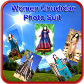 Women Churidar New Photo Suit icon