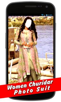 Women Churidar New Photo Suit apk screenshot