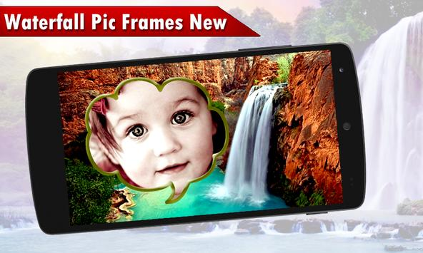 Waterfall Pic Frames New poster