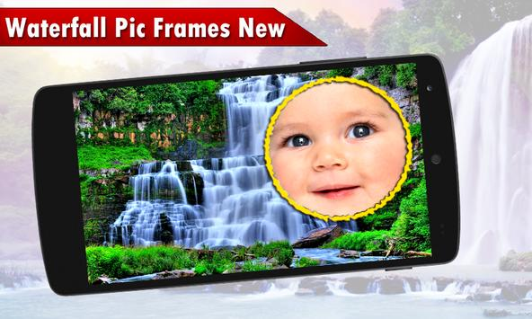 Waterfall Pic Frames New screenshot 1
