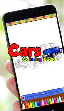 Cars Coloring Pages screenshot 1