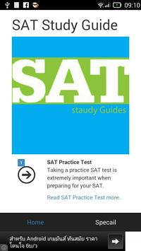 SAT Study Guide poster