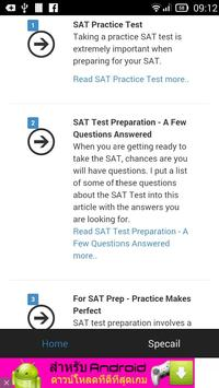 SAT Study Guide apk screenshot