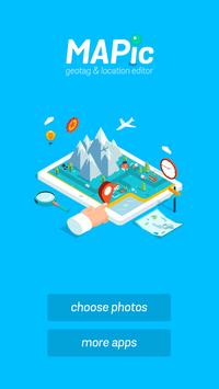 MAPic - Photo Location Editor apk screenshot