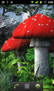 mushroom garden live wallpaper apk screenshot