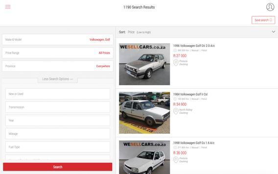 Cars.co.za apk screenshot