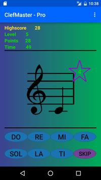 Clef Master - Music Note Game poster