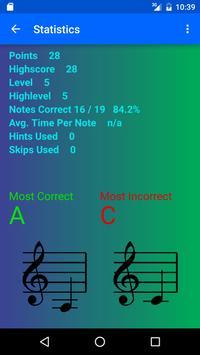 Clef Master - Music Note Game apk screenshot