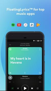 Musixmatch Lyrics apk تصوير الشاشة