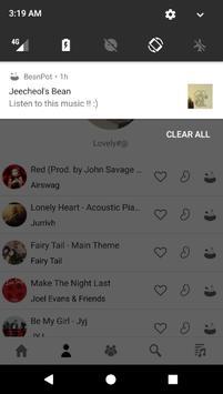 BeanPot - My Music Page apk screenshot