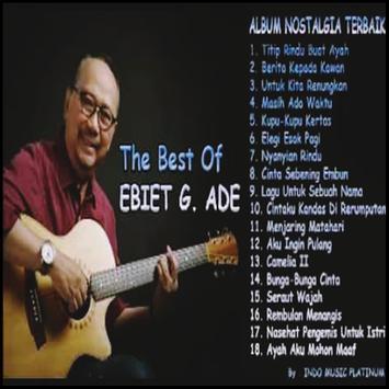 LAGU Ebiet G. Ade MP3 poster