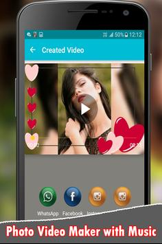 Photo Video Maker With Music screenshot 7