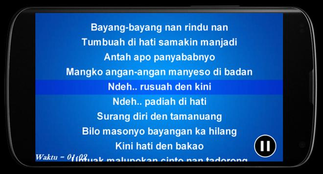 Karaoke Offline Minang screenshot 3
