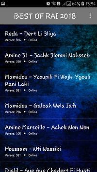 اجمل اغاني الراي بدون انترنت 2018 / music rai mp3 screenshot 2