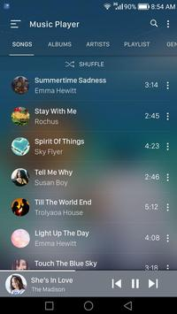 Music player screenshot 1