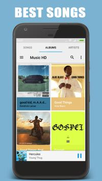 Free Music Player HD poster