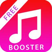 Volume Booster - max music and ringtone sound icon