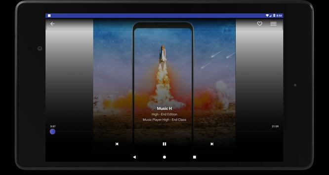 Android Mp3 Music Player Free Nougat screenshot 11