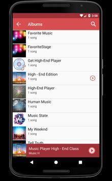 Android Mp3 Music Player Free Oreo screenshot 2