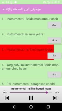 موسيقى أغاني الراي الصامتة والهادئة بدون انترنت screenshot 2