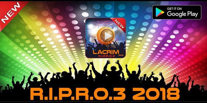 LACRIM 2018 ALBUM RIPRO 3 poster