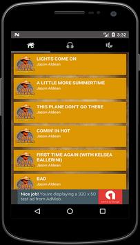 Song Of Jason Aldean Mp3 + Lyrics apk screenshot