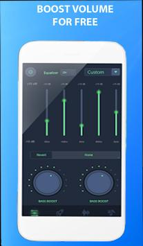 volume booster and sound equalizer screenshot 2