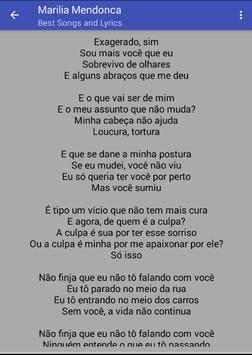 Marilia Mendonca Musica Letras screenshot 2