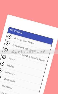 MC KAUAN O Terror Tem Nome mp3 apk screenshot