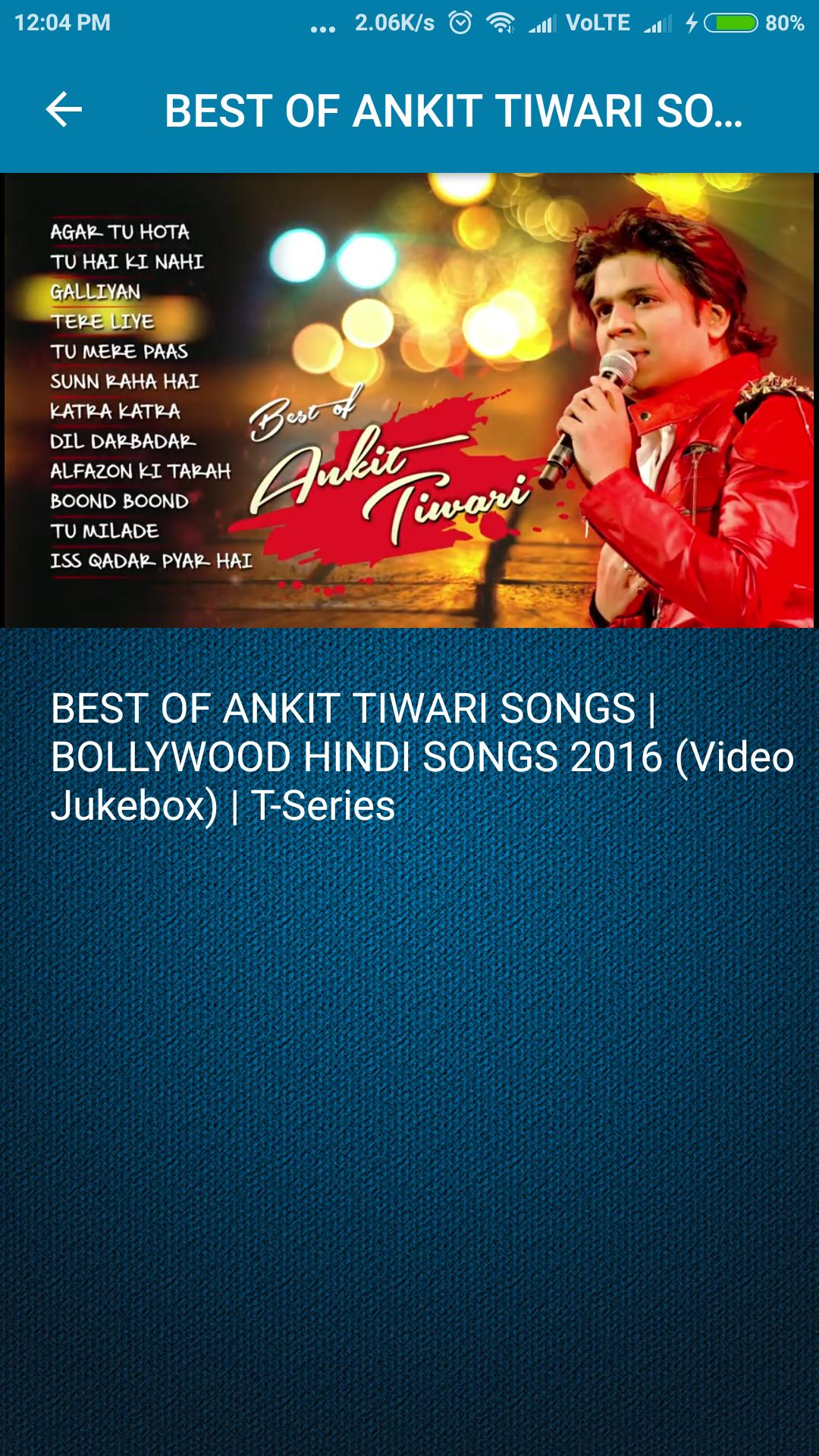 galliyan ankit tiwari download