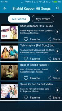 Shahid Kapoor Hit Songs screenshot 3